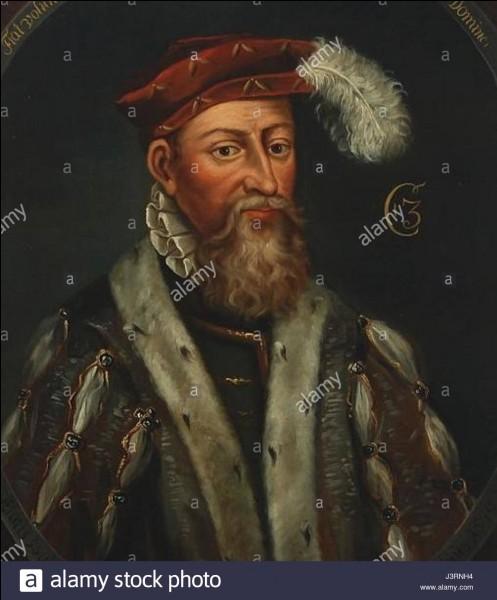 Qui est devenu roi du Danemark en 1534 ?
