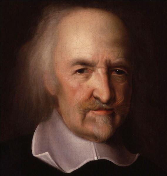 Qu'a écrit Thomas Hobbes en 1651 ?