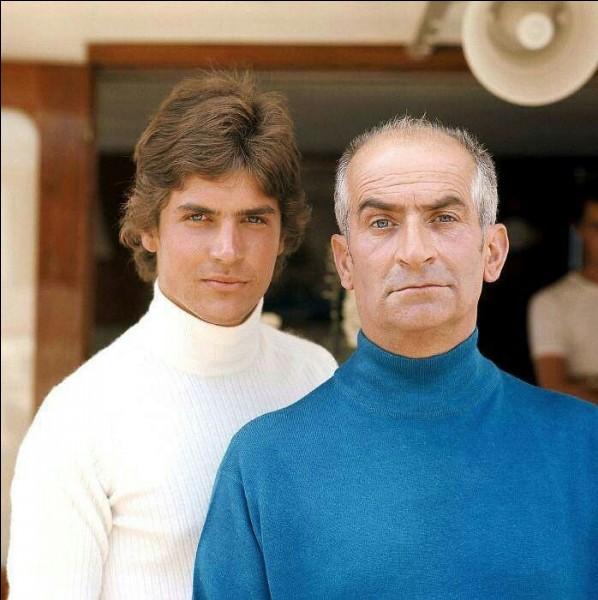 Dans lequel de ces films a-t-il son propre fils Olivier, devenu depuis pilote de ligne, pour fils ?
