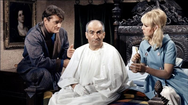 Quel est ce film où il est victime, pendant la nuit, dans le chateau de Lord Mac Rashley d'un fantôme facétieux, dans ces scènes où l'on voit que Jean Marais et Mylène Demongeot peinent à ne pas rire ?