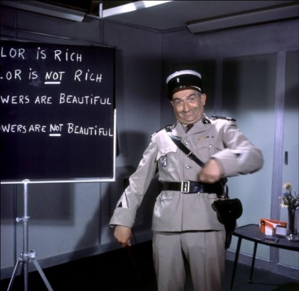 Louis, dans 'Le gendarme à New-York', se retrouve à parodier une grande comédie musicale, un steak à la main. De quelle comédie  musicale s'agit-il ?