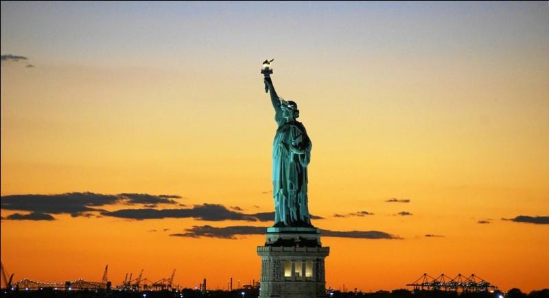 La statue de la Liberté a été conçue en France.