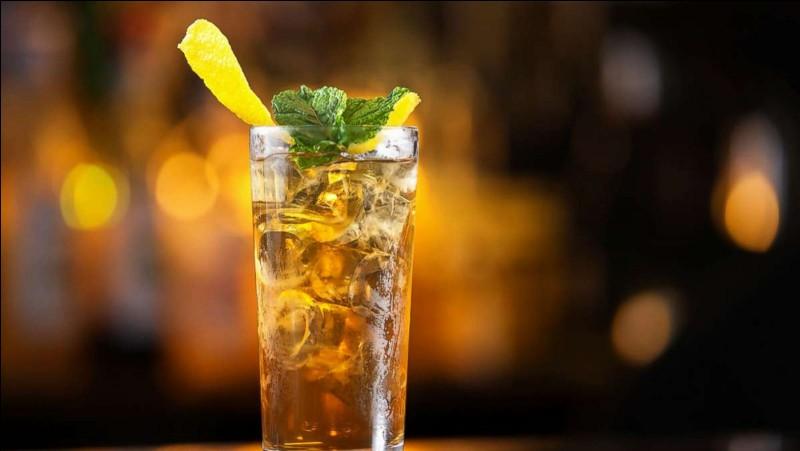 Quel est ce puissant mélange de vodka, gin, tequila et rhum créé par Rosebud Butts au Oak Beach Inn dans les années 70 ?