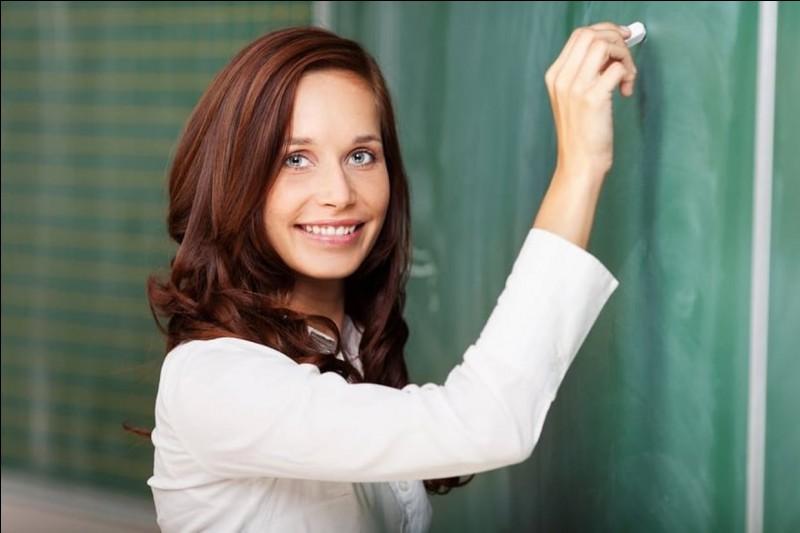 Qui est le professeur particulier qui s'occupe de son talent ?