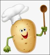 À quel métier sont attribuées les pommes de terre cuisinées avec oignons, lardons et fond de volaille ?