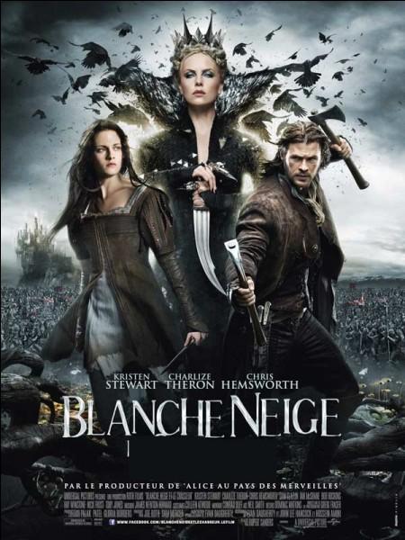 Dans le film de Rupert Sanders, quel est le métier de celui qui partage le titre avec Blanche-Neige ?