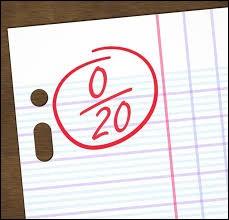 Comment sont tes notes ?