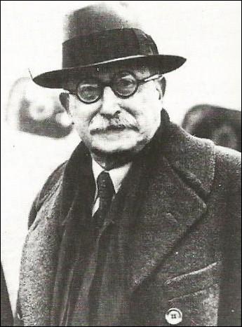 Qui est ce président du Conseil sous le Front populaire qui décède le 30 mars 1950 ?