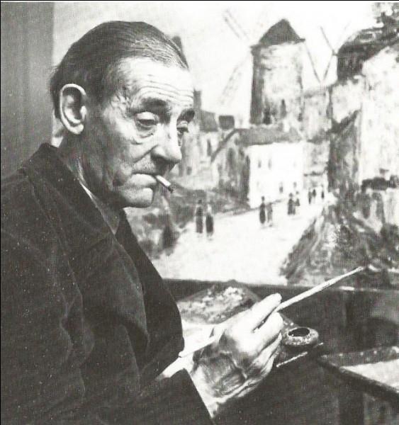 """Le """"peintre de Montmartre"""", fils de Suzanne Valadon meurt en novembre 1955 : c'est..."""