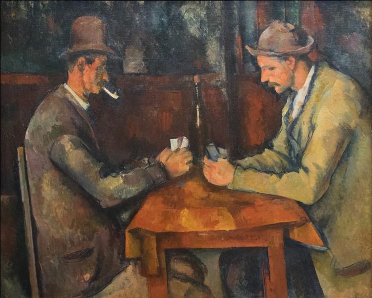 """A quel peintre doit-on cette oeuvre intitulée """"Les joueurs de cartes"""" ?"""