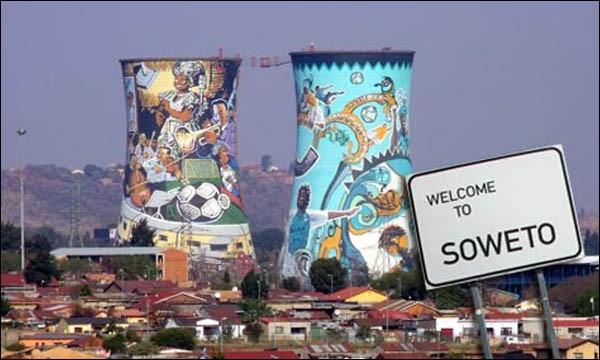 Dans quel pays se situe la ville de Soweto ?