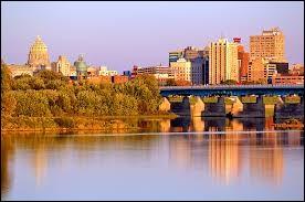 Quelle ville est la capitale de l'État de Pennsylvanie ?
