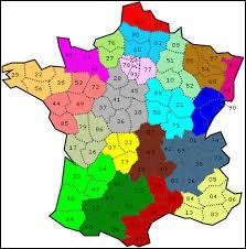 Quel département français a pour numéro le 53 ?