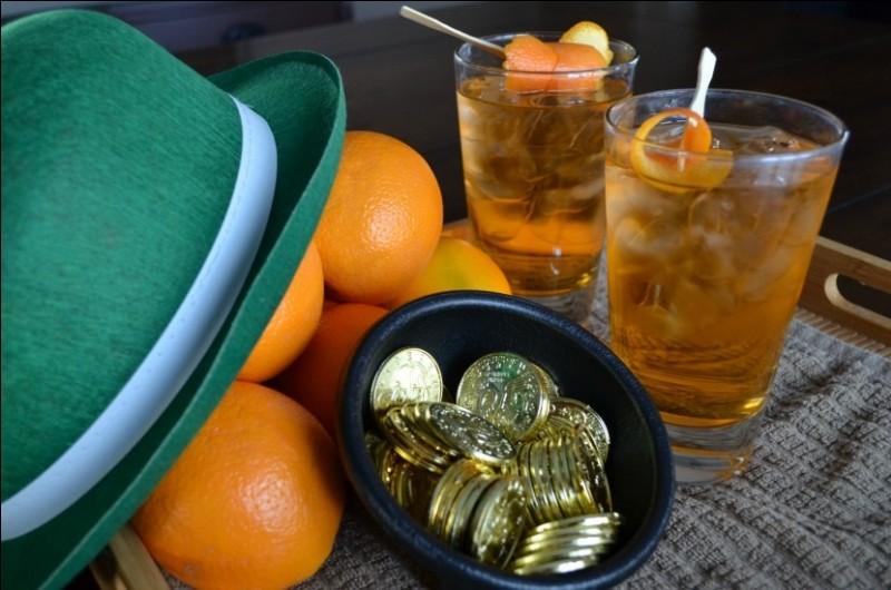 Quel alcool met-on dans un Irish Gold ?