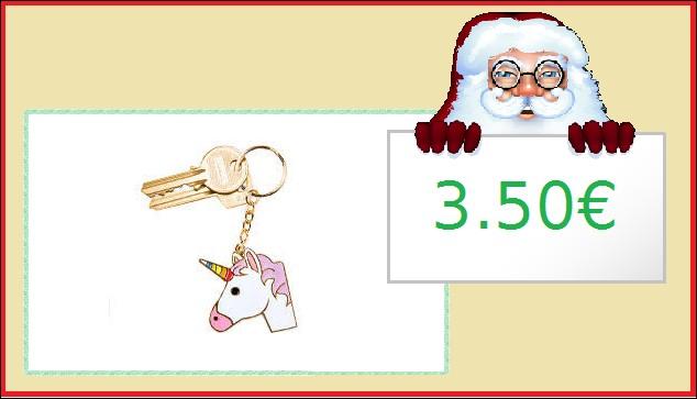 Un petit porte-clés fantaisie : 3.50€