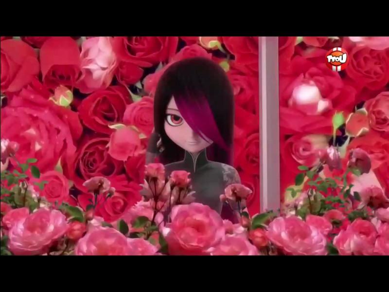 Dans l'épisode «Gigantitan», Marinette et ses amies organisent une balade romantique entre elle et Adrien. Elles ont chacune un nom de fleur pour nom de code. Quel est celui de Marinette ?