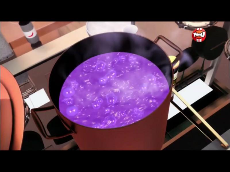 Dans l'épisode «Kung Food», Chloé saccage la soupe de l'oncle de Marinette en mettant toutes sortes d'ingrédients répugnants dedans. Il obtient donc une très petite moyenne lors de la dégustation. Quelle était-elle exactement ?