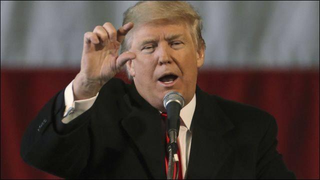 Le présidant Donald Trump fait souvent des pause avec la Chine mais ce pauvre mittron manque de bacs !