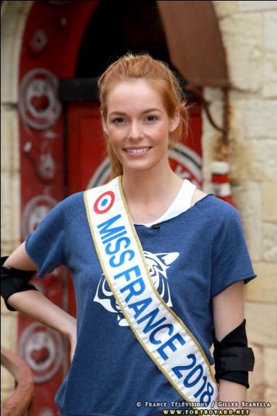 """En août 2018, Maëva participe au jeu """"Fort Boyard"""". Quelle autre Miss France faisait partie de son équipe ?"""