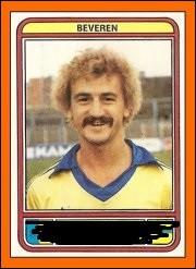 Comment s'appelait ce moustachu meneur de jeu du grand SK Beveren champion 1979 et 1984 et vainqueur de la coupe 1978 et 1983 ?