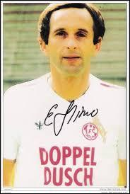 Quel incident précipita la fin de carrière de l'élégant Edhem Slijvo pendant la saison 1986/1987 ?