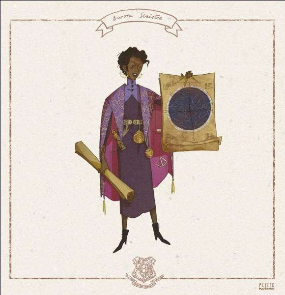 Qui enseigne gauchement l'astronomie à Poudlard ?