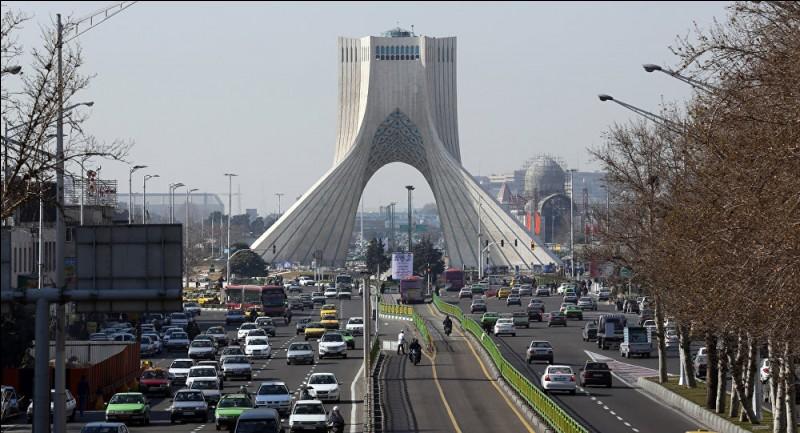 Pour terminer sans difficulté, cette grande ville capitale de l'Iran, c'est :