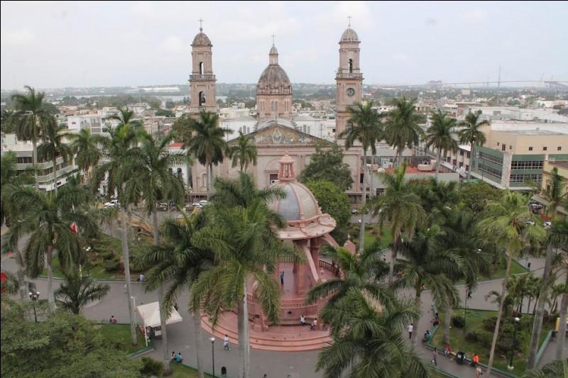 Cette ville mexicaine, port sur le golfe du Mexique, c'est :