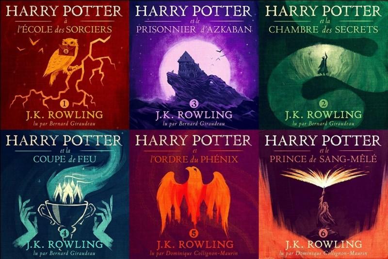 Qui est l'auteur de la saga Harry Potter ?