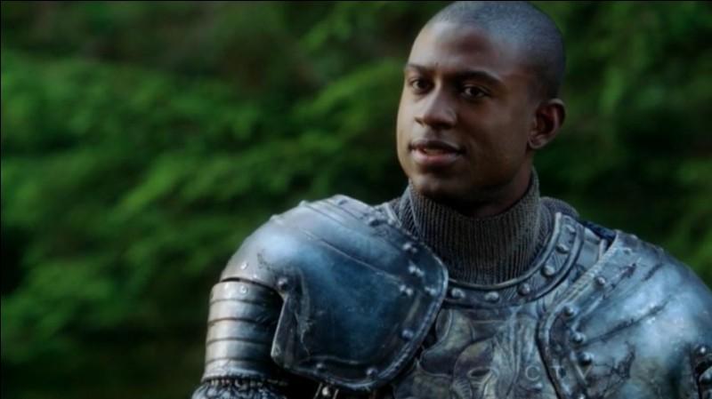 Qui s'est fait passer pour Lancelot lorsqu'Emma et Blanche étaient coincées dans l'autre monde ?