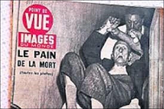 Faits divers : Durant l'été 1951, une série d'intoxications alimentaires dues au pain frappa la France. La plus sérieuse débuta le 16 août à Pont-Saint-Esprit (Gard) faisant sept morts, deux cent cinquante personnes atteintes de symptômes plus ou moins graves, et cinquante individus internés. Soixante-sept ans plus tard, on n'en connaît toujours pas la cause. Sous quel nom est connue cette affaire