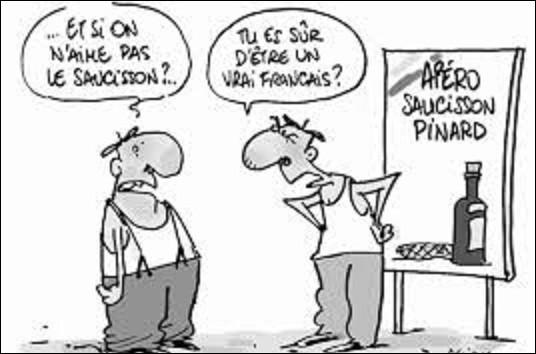 Citation : Quel ancien président de la République française a prononcé cette phrase ?''J'apprécie plus le pain, le pâté, le saucisson, que les limitations de vitesse''.