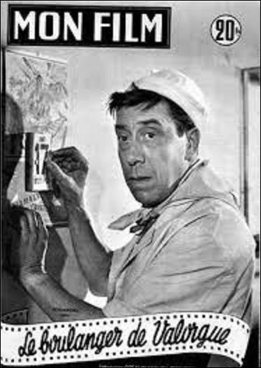 Cinéma : En 1953, sort au cinéma la comédie dramatique franco-italienne ''Le Boulanger de Valorgue'' avec Fernandel. Qui est le réalisateur de ce film ?