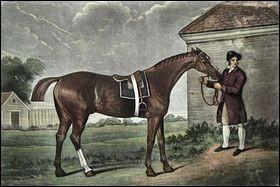 En quelle date est né Éclipse, cheval de course britannique ?