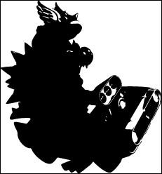 À quel personnage de Mario Kart cette silhouette correspond-elle ?