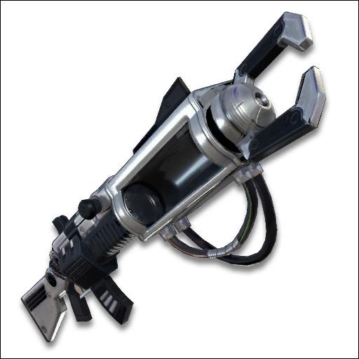 Quelle est cette arme de Fortnite qui a été suprimée ?