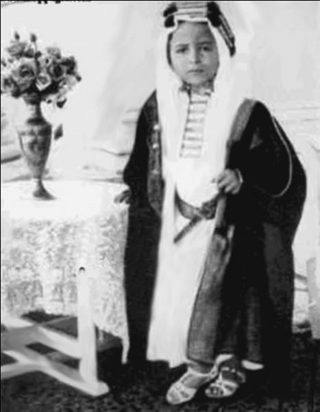 Pour camper Abdallah, fils insupportable de l'émir du Khemed, Hergé prend modèle sur le prince Faiçal II, le dernier roi de son pays. Lequel ?