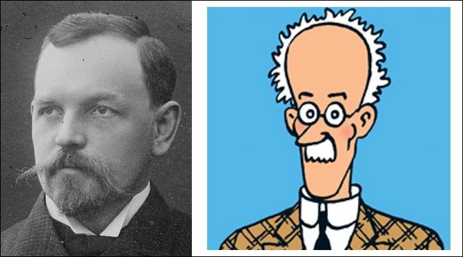 Pour camper l'explorateur Erik Björgenskjöld de « L'Étoile Mystérieuse » Hergé a trouvé son personnage : il s'agit de [ Prénom et Nom ], [ Nationalité ]. (Complétez les crochets !)