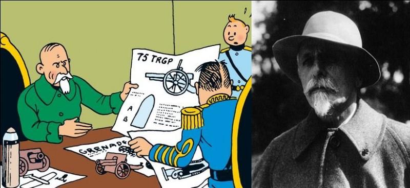 Le personnage de Basil Bazaroff, dans l'«Oreille Cassée », présente de nombreuses similitudes avec un personnage ayant réellement existé. Lequel ?