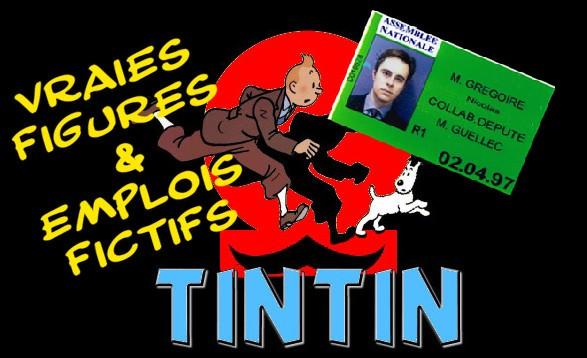 Tintin : vraies figures et emplois fictifs
