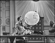 """""""Le Dictateur"""" est un film réalisé et joué par Charlie Chaplin."""