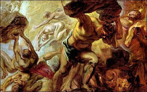 Comment se nomme la guerre des dieux contre la race des Titans ?