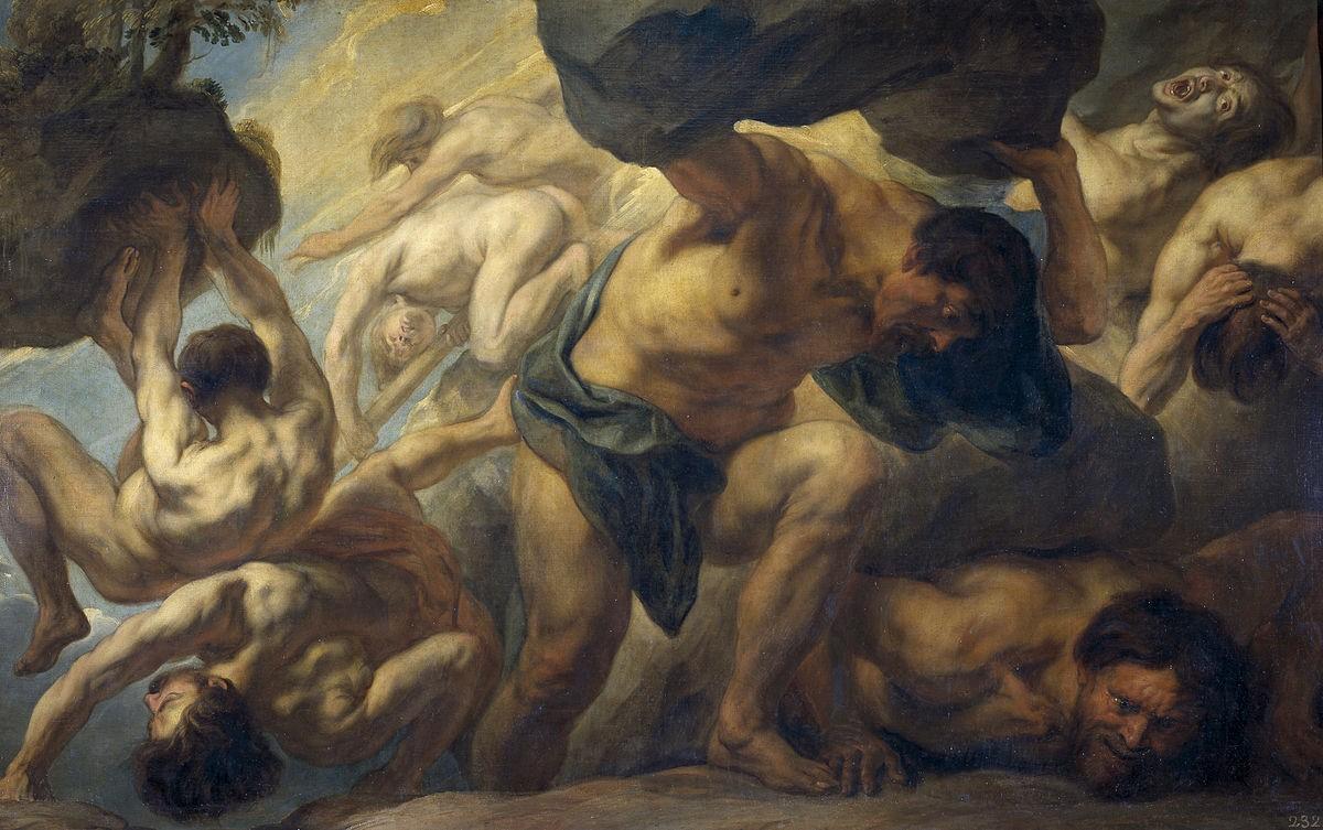 Les Titans de la mythologie grecque