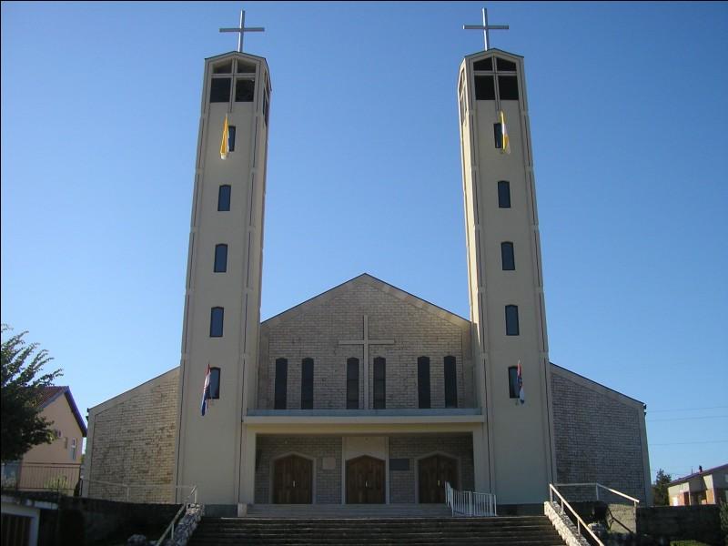 La majorité de la population d'Aladinići en Bosnie-Herzégovine est croate.