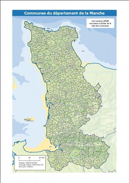 Quelle est la préfecture de la Manche (50) ?