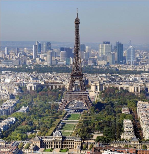 Parmi ces 4 villes, laquelle est la plus éloignée de Paris ?