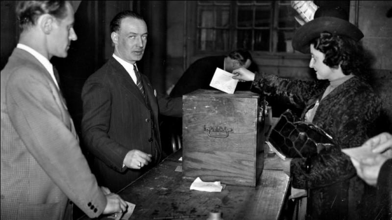 /Histoire/ En quelle année les femmes françaises ont-elles obtenu le droit de vote ?