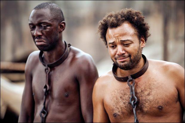 Dans quel film peut-on voir l'humoriste Fabrice Éboué ainsi ?