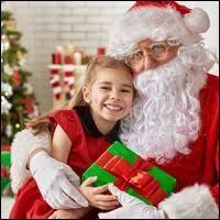 Où le père Noël va-t-il déposer les cadeaux ?