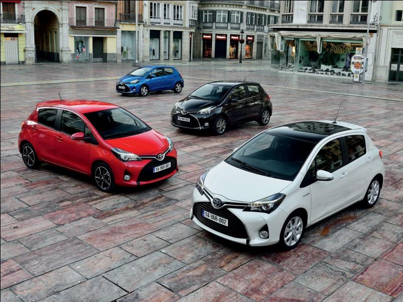 """Dans quelle ville française est fabriquée la fameuse Toyota Yaris """"Made in France"""" ?"""